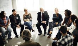 Εταιρική έννοια στρατηγικής σεμιναρίου επιχειρησιακής ομάδας Στοκ εικόνες με δικαίωμα ελεύθερης χρήσης