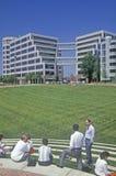 Εταιρική έδρα της Apple στη Σίλικον Βάλεϊ, Cupertino, Καλιφόρνια Στοκ Φωτογραφία