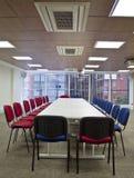Εταιρική αίθουσα συνεδριάσεων σε ένα κεντρικό γραφείο Στοκ φωτογραφία με δικαίωμα ελεύθερης χρήσης