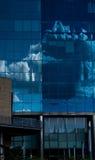 Εταιρική αντανάκλαση σύννεφων Στοκ Φωτογραφίες