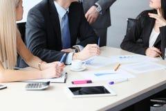 Εταιρική συνεδρίαση των επιχειρησιακών ομάδων Στοκ Εικόνες