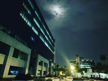 Εταιρικός παγκόσμιος νεφελώδης ουρανός έκλειψης φεγγαριών στοκ εικόνες με δικαίωμα ελεύθερης χρήσης