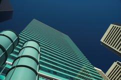 εταιρικός πύργος γραφεί&omega Στοκ εικόνα με δικαίωμα ελεύθερης χρήσης