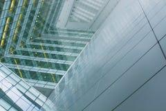 εταιρικός φουτουριστικός οικοδόμησης Στοκ εικόνες με δικαίωμα ελεύθερης χρήσης