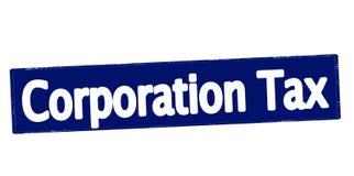 Εταιρικός φόρος διανυσματική απεικόνιση