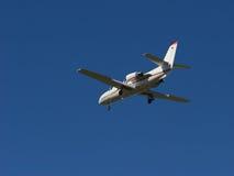 εταιρικό αεριωθούμενο αεροπλάνο στοκ εικόνες
