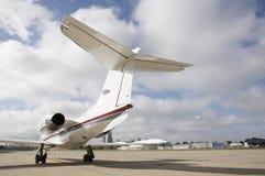εταιρικό αεριωθούμενο αεροπλάνο Στοκ Εικόνα