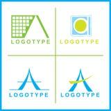 εταιρικό διάνυσμα λογότ&upsilo Στοκ εικόνες με δικαίωμα ελεύθερης χρήσης