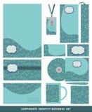Εταιρικό επιχειρησιακό καθορισμένο σχέδιο ταυτότητας Εθνικό σχέδιο του Paisley Στοκ Εικόνες