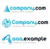 εταιρικό διάνυσμα λογότ&upsilo Στοκ Εικόνα