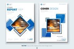 Εταιρικό κάλυψη επιχειρησιακών ετήσια εκθέσεων, φυλλάδιο ή σχέδιο ιπτάμενων Παρουσίαση φυλλάδιων Κατάλογος με αφηρημένο γεωμετρικ διανυσματική απεικόνιση