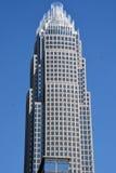 Εταιρικό κεντρικό κτήριο Τράπεζας της Αμερικής Στοκ Φωτογραφία