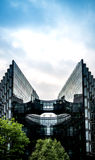 Εταιρικό κτήριο ουρανοξυστών στο Λονδίνο Στοκ Φωτογραφία