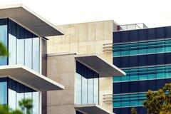 Εταιρικό κτήριο παραθύρων γυαλιού Στοκ Εικόνες