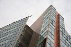 Εταιρικό κτήριο στην πόλη Στοκ Εικόνες