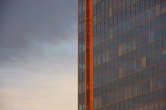 Εταιρικό κτήριο στην πόλη Στοκ Εικόνα