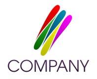 εταιρικό λογότυπο Στοκ Εικόνες