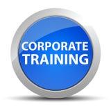 Εταιρικό μπλε στρογγυλό κουμπί κατάρτισης ελεύθερη απεικόνιση δικαιώματος