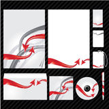 εταιρικό πρότυπο ταυτότητ&al Στοκ εικόνες με δικαίωμα ελεύθερης χρήσης