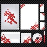 εταιρικό πρότυπο ταυτότητ&al Στοκ φωτογραφία με δικαίωμα ελεύθερης χρήσης