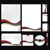 εταιρικό πρότυπο ταυτότητ&al Στοκ εικόνα με δικαίωμα ελεύθερης χρήσης