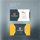Εταιρικό πρότυπο τυπωμένων υλών επαγγελματικών καρτών Προσωπική κάρτα επίσκεψης Στοκ φωτογραφία με δικαίωμα ελεύθερης χρήσης