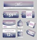 Εταιρικό σχέδιο ταυτότητας για την πώληση Στοκ Εικόνες