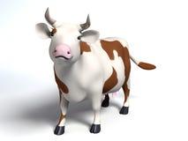 Ετερόκλητη αγελάδα Στοκ εικόνες με δικαίωμα ελεύθερης χρήσης