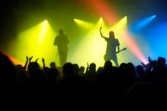 Ετερόκλητη συναυλία Στοκ Φωτογραφίες