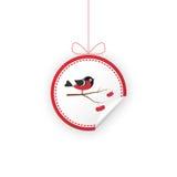 Ετικέτα για τα δώρα Χριστουγέννων, πωλήσεις, προϊόν απεικόνιση αποθεμάτων