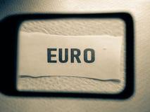 Ετικέτα ετικεττών ξένου νομίσματος στοκ φωτογραφίες με δικαίωμα ελεύθερης χρήσης