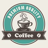 Ετικέτα καφέ εξαιρετικής ποιότητας Στοκ φωτογραφίες με δικαίωμα ελεύθερης χρήσης