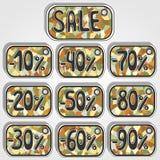 Ετικέτα με την πώληση διανυσματική απεικόνιση