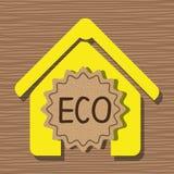 Ετικέτα οικολογίας γραφική απεικόνιση αποθεμάτων