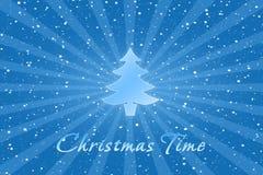 Ετικέτα Χριστουγέννων διανυσματική απεικόνιση