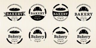 Ετικέτες αρτοποιείων Στοκ Εικόνα
