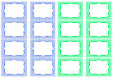 Ετικέτες βάζων Στοκ Εικόνες