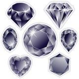 ετικέτες διαμαντιών Στοκ Εικόνα
