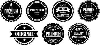 Ετικέτες εξαιρετικής ποιότητας απεικόνιση αποθεμάτων