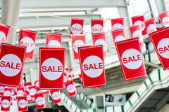 Ετικέτες πώλησης Στοκ Εικόνες