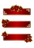 Ετικέτες Χριστουγέννων απεικόνιση αποθεμάτων