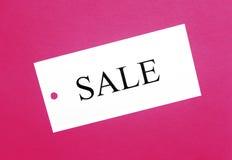 ετικέττα πωλήσεων στοκ εικόνα