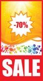 ετικέττα πώλησης Στοκ Εικόνα