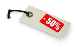 ετικέττα πώλησης Στοκ φωτογραφίες με δικαίωμα ελεύθερης χρήσης