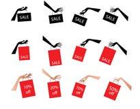 ετικέττες πώλησης Στοκ Εικόνες