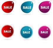 ετικέττες πώλησης απεικόνιση αποθεμάτων
