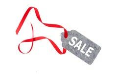ετικέττες πώλησης μόδας εξαρτημάτων Ετικέτα δώρων, που απομονώνεται στο άσπρο υπόβαθρο Στοκ Φωτογραφίες