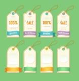 Ετικέττες τιμών και πώλησης Στοκ εικόνες με δικαίωμα ελεύθερης χρήσης