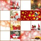 Ετικέττες δώρων, κάρτες Χριστουγέννων Στοκ Φωτογραφίες