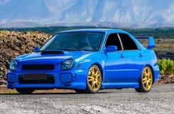 ΕΤΠ Impreza Subaru Στοκ εικόνα με δικαίωμα ελεύθερης χρήσης